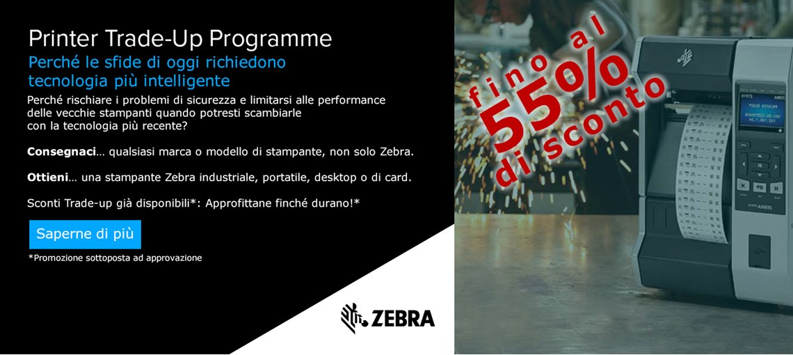 PROGRAMMA ZEBRA PRINTER TRADE-UP