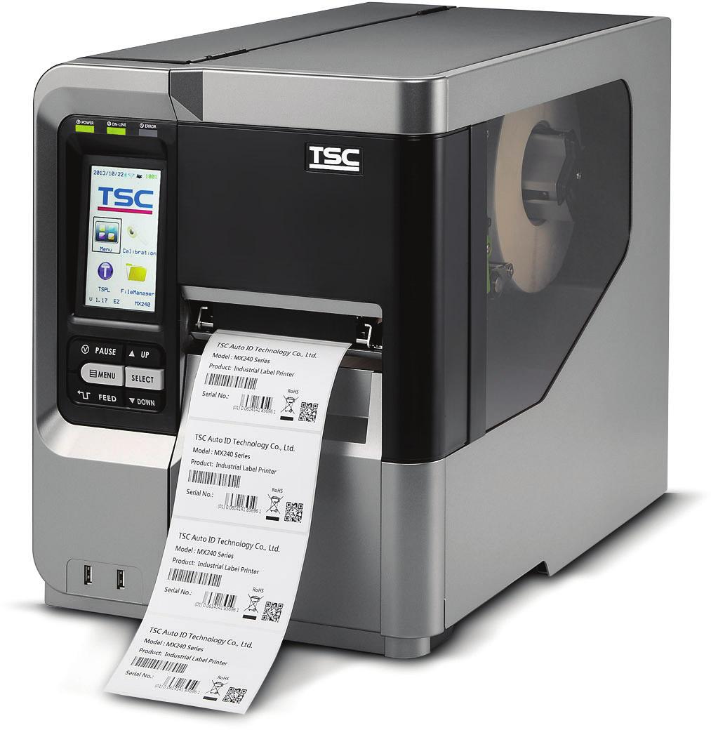 300dpi beige USB 12 Punkte//mm TSPL-EZ TSC TTP-323 RS232
