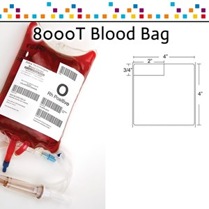 8000T Blood Bag